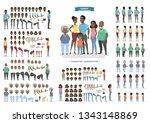 happy african american family...   Shutterstock . vector #1343148869