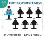 find the correct shadow for... | Shutterstock .eps vector #1343170880