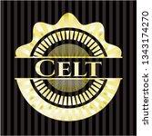 celt shiny emblem | Shutterstock .eps vector #1343174270