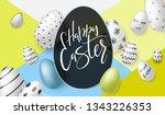 vector illustration of easter... | Shutterstock .eps vector #1343226353