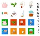 vector illustration of healthy... | Shutterstock .eps vector #1343255936