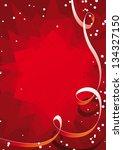 vector red background | Shutterstock .eps vector #134327150