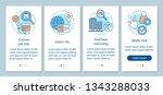 internship program onboarding... | Shutterstock .eps vector #1343288033