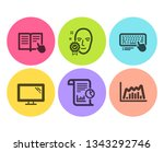report  face verified and... | Shutterstock .eps vector #1343292746