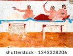 Paestum  Ancient Frescoes In...