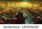 Digital Illustration Of Fantas...