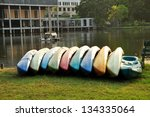 kayak in park | Shutterstock . vector #134335064
