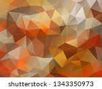vector background from polygons ... | Shutterstock .eps vector #1343350973