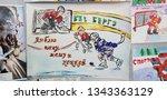 russia  st. petersburg 08 03...   Shutterstock . vector #1343363129