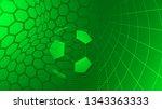 football or soccer background... | Shutterstock .eps vector #1343363333