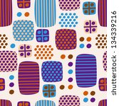geometric abstract pattern for... | Shutterstock .eps vector #134339216