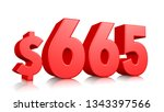 665  six hundred sixty five... | Shutterstock . vector #1343397566