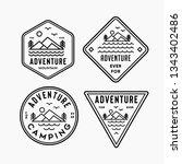 outdoor badge icon | Shutterstock .eps vector #1343402486