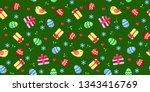 bright  multi colored seamless... | Shutterstock .eps vector #1343416769