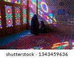 iran shiraz  9 4 2018  inside...   Shutterstock . vector #1343459636