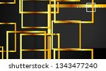 vector modern abstract squares... | Shutterstock .eps vector #1343477240