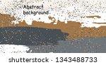 multicolored confetti dots on a ... | Shutterstock .eps vector #1343488733
