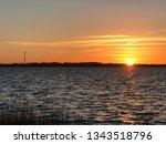 sundown over r gen  | Shutterstock . vector #1343518796