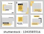 minimal design layout. editable ...   Shutterstock .eps vector #1343585516