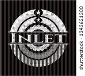 inlet silver shiny badge | Shutterstock .eps vector #1343621300
