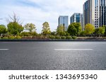 panoramic skyline and modern... | Shutterstock . vector #1343695340