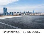 panoramic skyline and modern...   Shutterstock . vector #1343700569