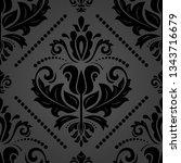 orient vector classic pattern....   Shutterstock .eps vector #1343716679