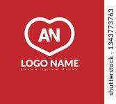 letter an logo concept....