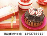 birthday celebration at sixty... | Shutterstock . vector #1343785916