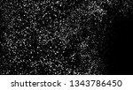 white grainy texture isolated... | Shutterstock .eps vector #1343786450