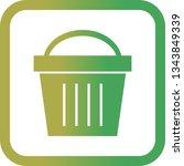 illustration  picnic basket...   Shutterstock . vector #1343849339