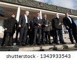 chisinau  moldova january 13 ... | Shutterstock . vector #1343933543