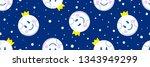 cute stars  cute hipster blue...   Shutterstock .eps vector #1343949299