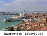 venice   a view to santa maria...   Shutterstock . vector #1343957036