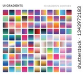 110 ui gradient color swatches. ...