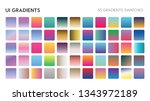55 ui gradient color swatches....