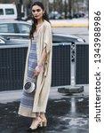 paris  france   march 5  2019 ... | Shutterstock . vector #1343988986