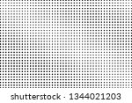 black and white halftone vector ... | Shutterstock .eps vector #1344021203