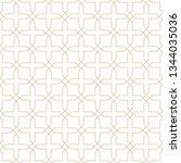 seamless golden oriental... | Shutterstock .eps vector #1344035036