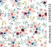 seamless pattern with...   Shutterstock . vector #1344038513