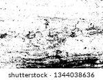 vector wood texture  abstract... | Shutterstock .eps vector #1344038636