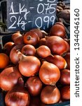 onions and price poster in the...