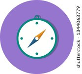 illustration  direction icon  | Shutterstock . vector #1344063779