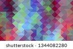 geometric design. colorful...   Shutterstock .eps vector #1344082280