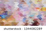 geometric design. colorful...   Shutterstock .eps vector #1344082289