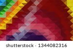 geometric design. colorful...   Shutterstock .eps vector #1344082316