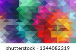 geometric design. colorful...   Shutterstock .eps vector #1344082319