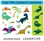 find the correct shadow ... | Shutterstock .eps vector #1344091709