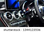 car ventilation system and air... | Shutterstock . vector #1344123536