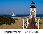 Brant Point Lighthouse Is The...
